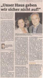 Pressebericht BezirksRundschau UU 23.05.2013
